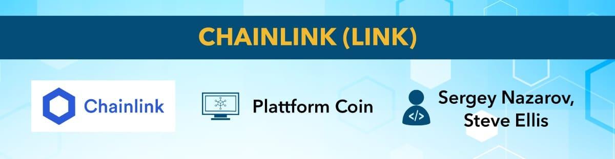 Chainlink ist eine Kryptowährung mit Potential