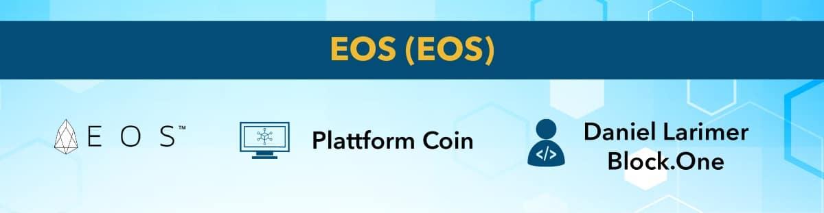 EOS ist eine Kryptowährung mit Potential