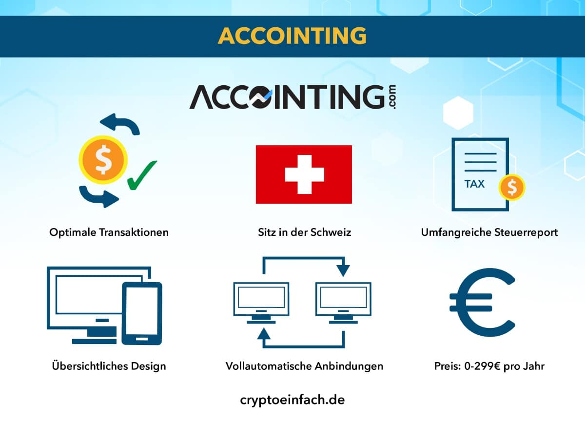 Krypto Steuer Tool Accointing