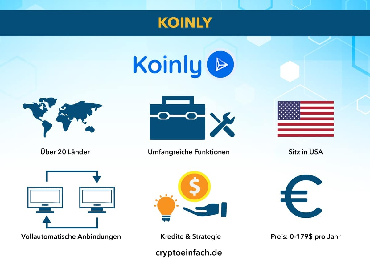 Krypto Steuer Tool Koinly