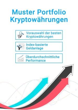 Muster Portfolio Kryptowährungen Buchcover 1
