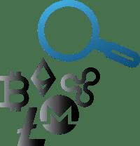 Muster Portfolio Kryptowährungen Symbol 1