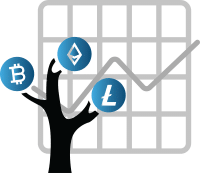 Muster Portfolio Kryptowährungen Symbol 2